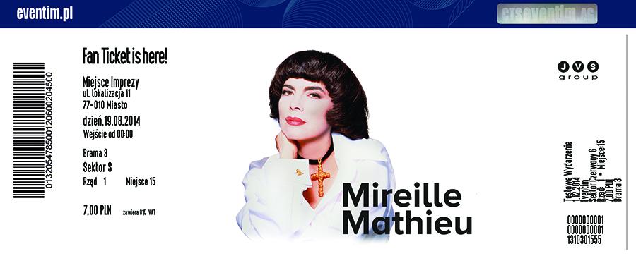 Mireille Mathieu wystąpi w Polsce, Italo Disco, Euro Disco, 80's, 90's, radio station
